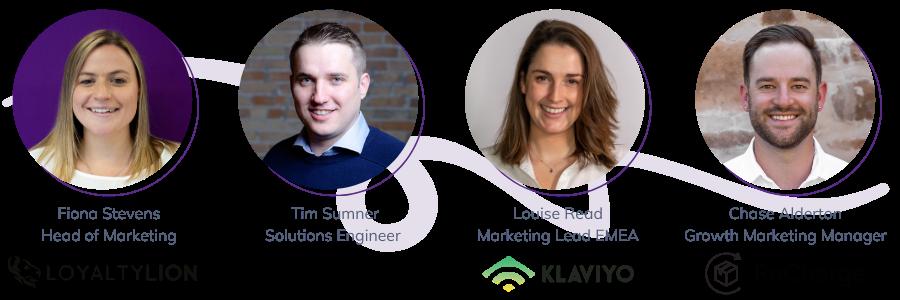 Accelerate 2021 speakers shopify plus loyaltylion klaviyo and recharge-1