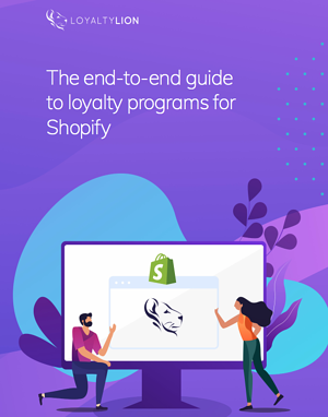 Shopify loyalty program ebook cover