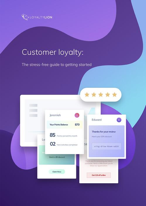 Stress free guide to getting started in loyalty V2-1